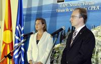Macedonia Hosts NATO Euro-Atlantic Partnership Council Security Forum