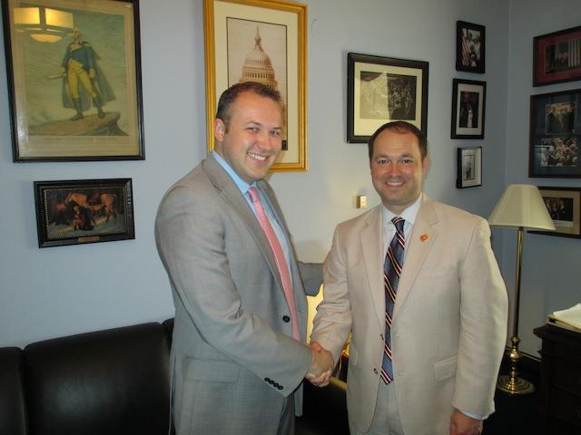 Indiana Congressman Marlin Stutzman Joins Macedonia Caucus
