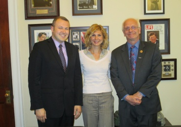 UMD Met Congressman Bentivolio of Michigan to Discuss U.S.-Macedonia Relations