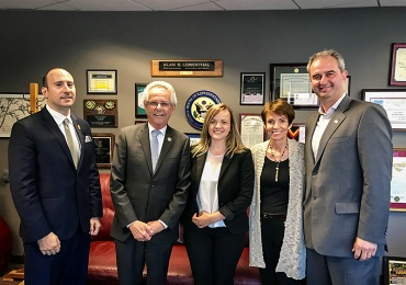 UMD Leaders Discuss Macedonia with Congressman Lowenthal