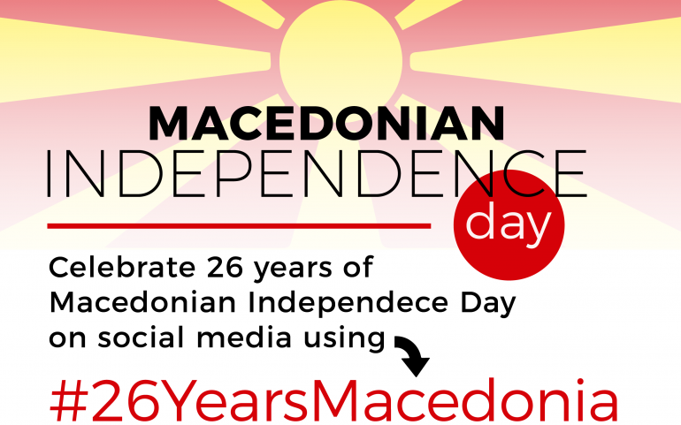 #26YearsMacedonia: Celebrating our past, looking towards the future