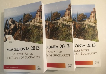 "NEW UMD PUBLICATION: ""Macedonia 2013: 100 Years After the Treaty of Bucharest"""
